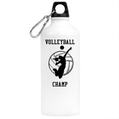 Volleyball Champ-Water Bottle
