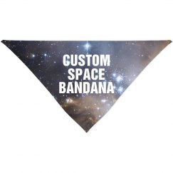 Custom Space Bandana