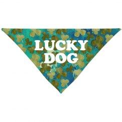 Lucky Dog All Over Print Bandana