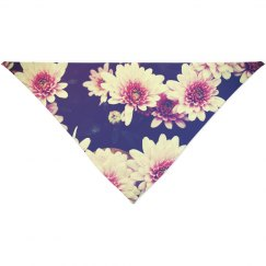 Vintage Floral Flowers For Pet