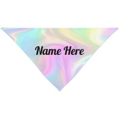 Custom Holographic Pet Bandana
