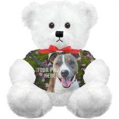 Custom Pet Photo Plush