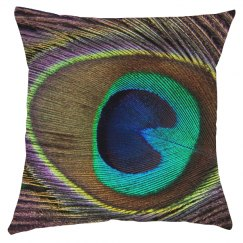 Peacock All Over Print Pillow
