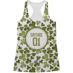 Drunk 1 St Patricks Drinking Tank