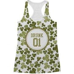 Drunk 1 St Patricks Drinking Tank
