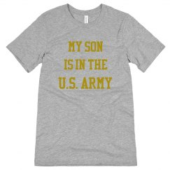 My son is in the u.s. army