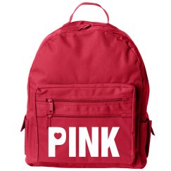 Hot Pink Pink Bookbag