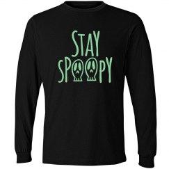Stay Spoopy Halloween Long Sleeve Tee