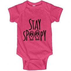 Stay Spoopy Halloween Onesies