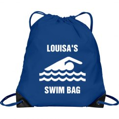 Louisa's swim bag