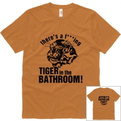 Bathroom Tiger Bachelor