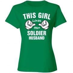 Girl loves her soldier husband