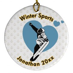WinterSport Xmas Ornament