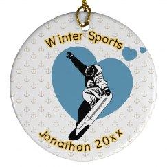 WinterSport Xmas Ornament