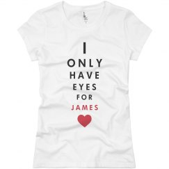 Eyes for james