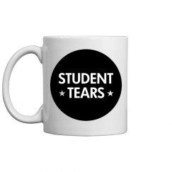 Student Tears Teachers Gift Mug