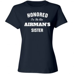 Honored to be airman's sister
