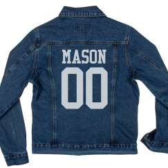 Custom Sport Denim Jacket