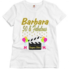 PERSONALIZED 50TH MOVIE STAR