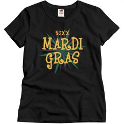 Custom Year Mardi Gras