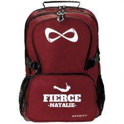 Fierce Cheerleader Custom Nfinity Backpack