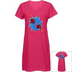 Ladybugs & Hibiscus