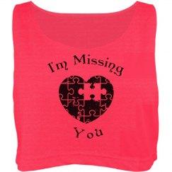 Missing You Crop top