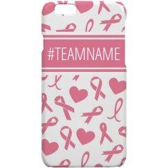 Custom Team Breast Cancer Awareness
