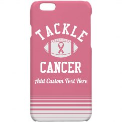 Cheerleader Tackle Breast Cancer