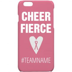 Cheer Fierce Breast Cancer Aware