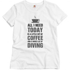 A little bit of Coffee and a whole lot of Diving