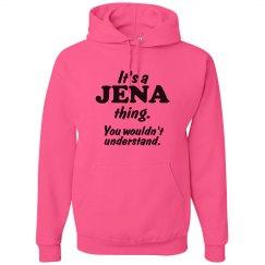 It's a Jena thing