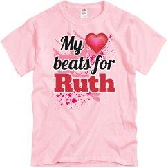 My heart beats for Ruth