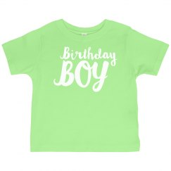 birthday boy toddler tee
