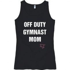 Off duty gymnast mom