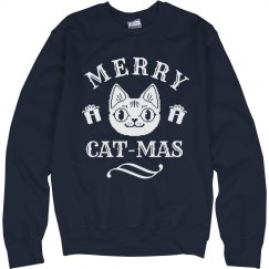 Merry Cat-mas Navy