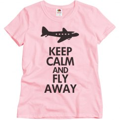 Keep calm and fly away