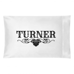 TURNER. Pillow case