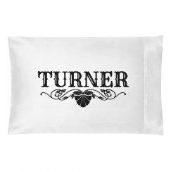 TURNER. Pillow case