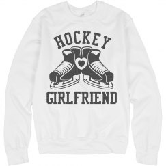 Sporty Hockey Girlfriend Fleece