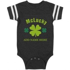 McLucky Custom Irish Baby