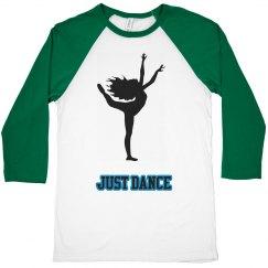 Just Dance Crop Top Long Sleeve