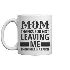 Thanks Mom Mothers Day Mug Gift