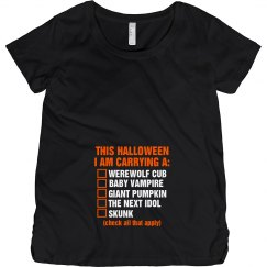 Halloween Baby Checklist