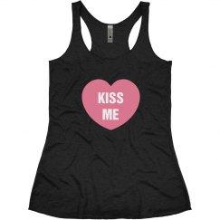 Kiss Me Valentine Tee