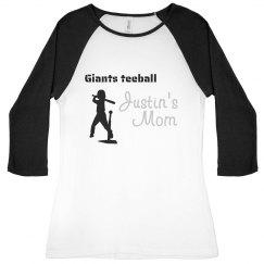 Rhinestone Teeball Mom