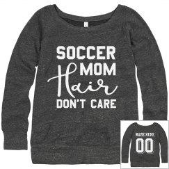 Soccer Mom Hair Sweatshirt