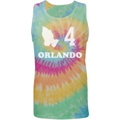 Pray For Orlando Tie Dyed Tee