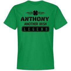 Anthony another Irish Legend