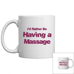 Rather have a massage